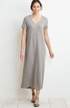 Pure Jill striped dress