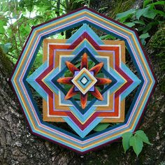 Golden Earth a 16 inch Ojo de Dios by custom order by JaysMandalas, $75.00