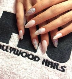 Not adventurous enough for Stiletto nails but these are cute!