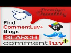 How to Find CommentLuv Premium Enabled Blogs for Commenting