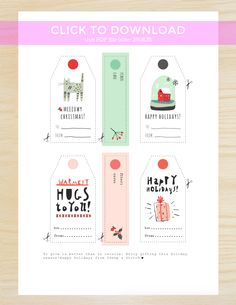 Free Printable Gift Tags for Knitters | http://sheepandstitch.com/free-printable-gift-tags-for-knitters/