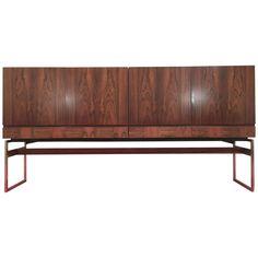 Rosewood Sideboard Design Rudolf Bernd Glatzel for Fristho Franeker, 1960 | 1stdibs.com