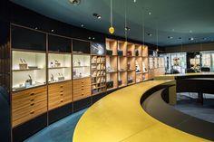 Concept Store Montblanc-Präg Dornbirn | Atelier Ender | Architektur Concept, Store, Home Decor, Mont Blanc, Atelier, Department Store, Room Interior Design, Architecture, Decoration Home