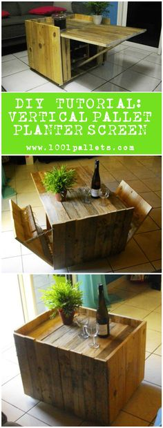 #CoffeeTable, #DIY, #PDF, #RecycledPallet, #Tutorial