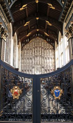 U.K. All Souls College Chapel ca. 1438, Oxford, England // by curry15, via Flickr