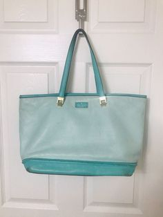 Fun and vibrant Kate spade tote! Big enough to fit you computer and books and is still in good condition. No flaws just needs a little cleaning! Kate Spade Totes, Kate Spade Tote Bag, Tote Bags, Flaws, Vibrant, Cleaning, Big, Books, Libros