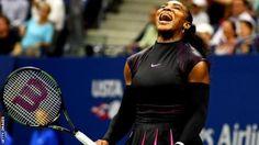 US Open 2016: Serena Williams beats Simona Halep in quarter-finals - BBC Sport