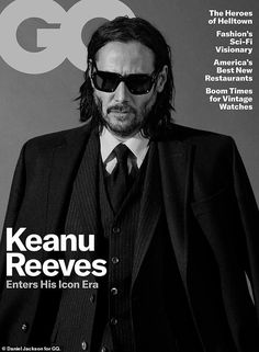 Keanu Reeves covers GQ USA May 2019 by Daniel Jackson - Keanu Reeves covers GQ USA May 2019 by Daniel Jackson Published on in Cover by Maximilian Keanu Reeves connects with GQ USA for i. Magazine Gq, Gq Magazine Covers, Magazine Spreads, Magazine Design, Keanu Reeves, Daniel Jackson, John Wick, Gq Usa, Photos Vintage
