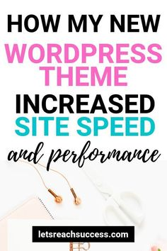 Learn what my new WordPress theme is, why I chose it, and how it boosted the speed and performance of the site right away: Learn Wordpress, Best Wordpress Themes, Wordpress Plugins, Wordpress Free, Ecommerce, Wordpress Website Design, Blogging For Beginners, Blog Tips, How To Start A Blog