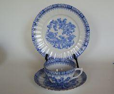 Vintage China Blau Rosslau China Dishes by OurBarefootCottage.etsy.com
