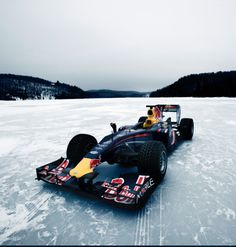 F1 On Ice! Watch The Craziest Ever Ice Racing Video! #RedBull Hit the image to view!