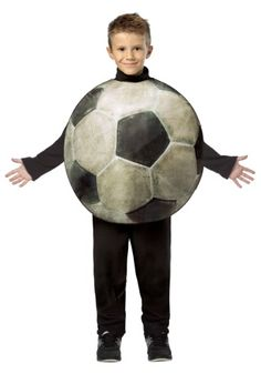 Child Get Real Soccer Costume (BALLS)