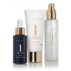 A collection of targeted treatments formulated with safer ingredients to enhance your daily skin care regimen. Infused with multi-source vitamin C complex, the Beautycounter+ Brightening Collection reawakens dull skin and boosts radiance. Antioxidant-rich vitamin C helps reduce the appearance of age spots for a brighter, more even complexion. Perfect for all skin types and those concerned with dull, uneven skin tone.