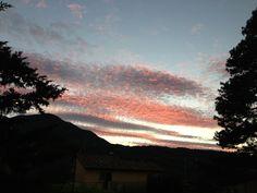 I colori del tramonto: Agosto 2013