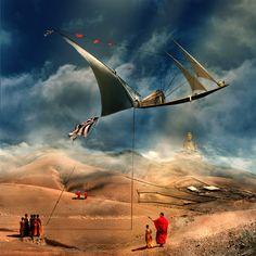 Trader's boat by Rostislav Zagornov