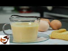Crema inglese: salsa alla vaniglia per dolci al cucchiaio (vanilla english cream) - YouTube