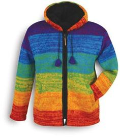 Wool Rainbow Jacket!