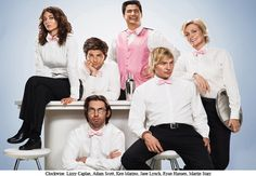 Party Down. So good on STARZ. Stream it on Netflix.