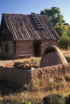 santa fe, new mexico | ... house, El Rancho de las Golondrinas, Santa Fe, New Mexico