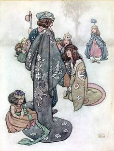 Hans Andersen's fairy tales' with illustrations by William Heath Robinson. Published 1913 by Constable Co