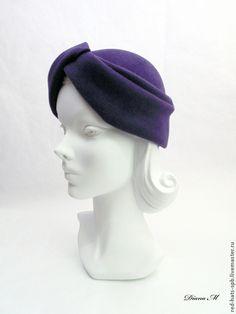 """Шляпы ручной работы. Шляпка - Чалма ! Фетровая шляпа - чалма. Диана Макеева; """"Red Hats"""". Ярмарка Мастеров. Чалма"""