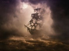 Black PearlIt is the thrilling escape room game which makes you feel as if you have set sail on the high seas. Players of our exciting Black Pearl room will feel as if they have walked off the set of the smash hit `Pirates of the Caribbean` movie. Pirate Ship Tattoos, Ghost Pirate Tattoo, Black Pearl Ship, Pirate Art, Pirate Ships, Old Sailing Ships, Ship Drawing, Ship Paintings, Ghost Ship