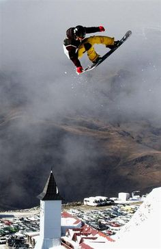 snowboard - Cardrona Alpine Resort, Wanaka, New Zealand