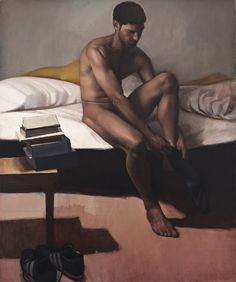 Male Nude by Unknown Artist