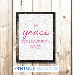 Bible verse printable, scripture print christian quote wall art