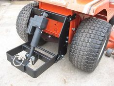 Johnny Products - Universal electric sleeve hitch for quality lawn and garden tractors. This product allows you to attach sleeve hitch products (like the Brinly-Hardy plows and cultivators) to your garden tractor. It includes an electric lift. Garden Tractor Attachments, Atv Attachments, Riding Mower Attachments, Yard Tractors, Small Tractors, John Deere Garden Tractors, Tractor Seats, Small Garden Tractor, Homemade Tractor