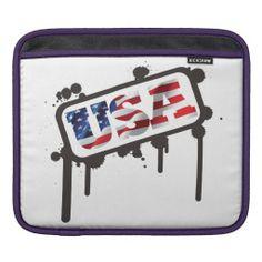 Personalized iPad Sleeve USA     Water resistant, extra durable. Ultra-plush protective lining. Simple, elegant slip-cover design. Made with a sustainability focus in San Francisco, CA. Sized for Apple iPad/iPad 2/iPad3 (w/smart cover).