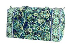 The Vera Bradley duffle bag is functional because it is able to carry a lot of clothes, shoes, etc. within it and expands very easily. The straps are also comfortable enough to put over the shoulder. The usability is simple because there is nothing to different than a normal bag. The proficiency of it allows for people to pack less bags because more can be put in this bag. The only thing I don't know about is reliability because I have heard that they do eventually tear or the zipper breaks.