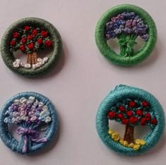 Dorset Buttons from