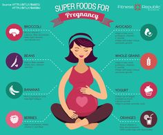 7 #Superfoods & Why They're Especially Awesome for #Pregnancy! http://dld.bz/d4vSj #WellnessWednesday