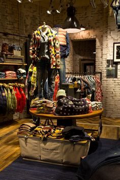 Denim & Supply Ralph Lauren store in Malmo, Sweden. I'm in LOVE!