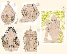 YCH chibi Terrarium and Couple! [ CLOSED ] by BluAjisai