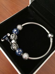 Pandora Disney Parks Sterling Silver Bracelet AND 7 Charms | eBay