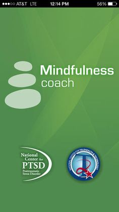 Mindfulness Coach by US Department of Veterans Affairs (VA) < aims to teach mindfulness skills, to help military members learn to reduce tension and improve coping skills