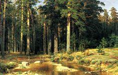 Shishkin Ivan - Naval grove.