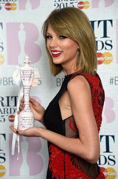 Taylor Swift Photos: BRIT Awards Winners Room