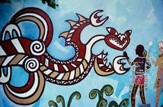 Image result for Taniwha mural