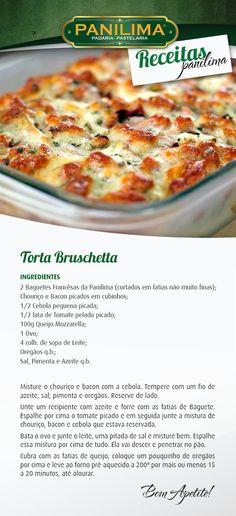 Receita com Baguete Francesa da Panilima