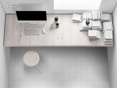 Ornamenta's Latest Porcelain Tile Collection Takes Inspiration from Graph Paper
