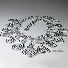 TUTORIAL- Wire Jewelry Making, Wire Whimsy Beginning Tutorial, PDF download only on Etsy, $2.95