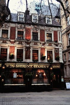 The Sherlock Holmes public house and restaurant
