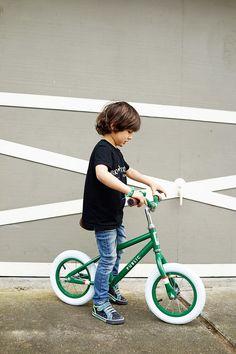 From the beautiful design and life blog Good on Paper - Public Mini Kids Balance Bike / www.goodonpaperdesign.com/blog / @good_on_paper
