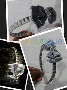Ribbon woven headband