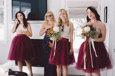 Bridesmaid Dresses Ireland Tutu Tulle Short Bridesmaid Skirts 2015 Hot Cheap Grape Burgundy Knee Length Wedding Prom Homecoming Girls Underskirt Under 100 Diy Match Jordan Fashions Bridesmaid Dresses From Marrysa, $61.11| Dhgate.Com