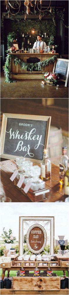 wedding reception bar ideas for 2018 trends #weddingreception #weddingideas #weddingfood #weddingdrinks #weddingdecor