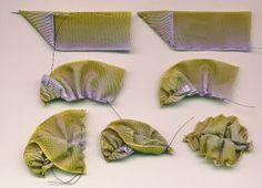 Nostalgico Needleart: foglie nastriformi